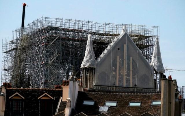 Inician obras para proteger de lluvia a Notre-Dame - cobertura Notre-Dame
