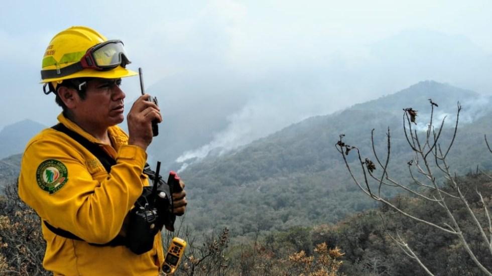 Hay 53 incendios activos en 16 estados de México: Conafor - Foto de Conafor