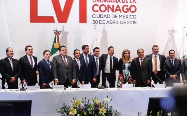 Conago propone a López Obrador eliminar la crispación - Conago reunión gobernadores