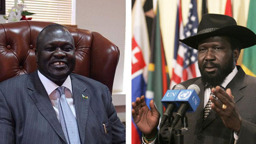 Papa reúne a presidente y a jefe rebelde de Sudán del Sur para retiro