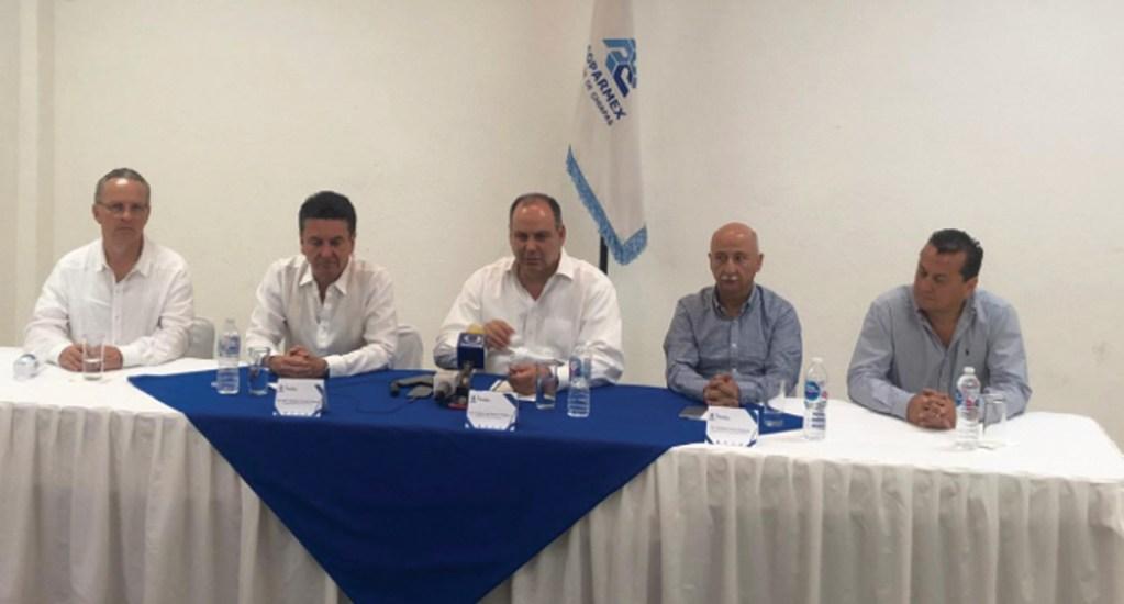 La transparencia no ha existido en el gobierno federal: Coparmex - Foto de Twitter Gustavo de Hoyos