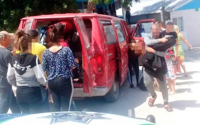 Rescatan a 17 migrantes cubanos en Tamaulipas - Foto Especial