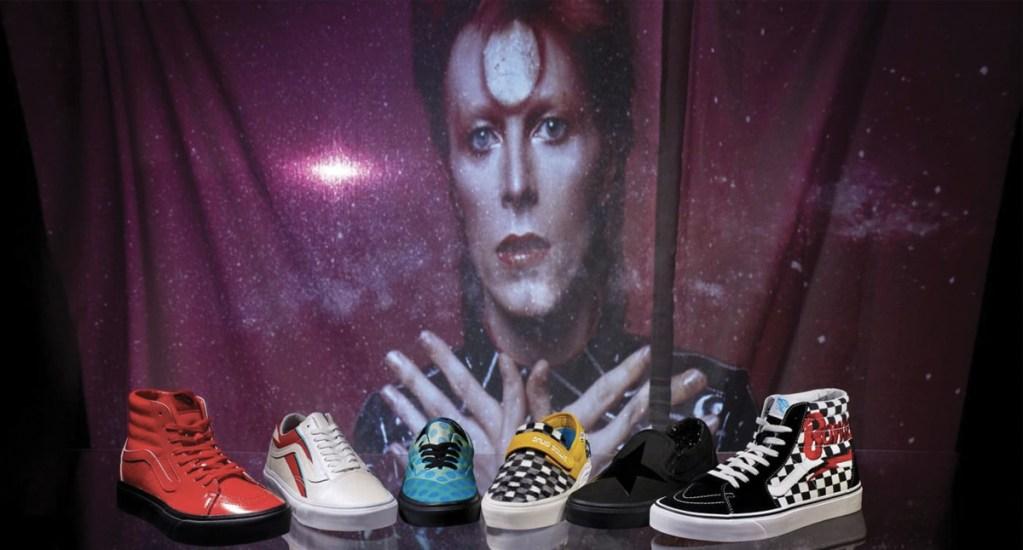 Lanzan colección de tenis de David Bowie - Foto de Vans