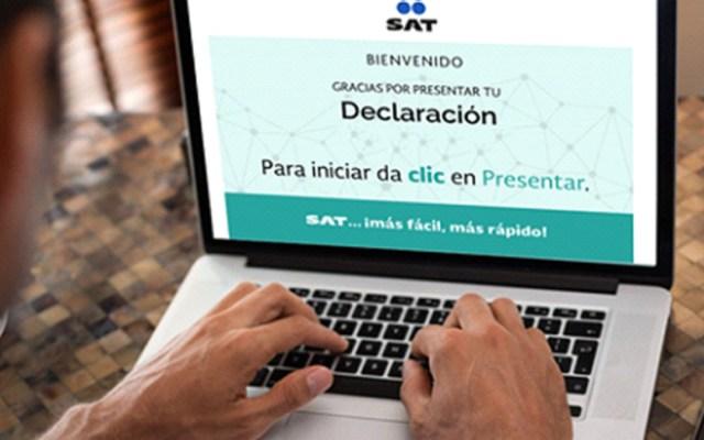 Declaraciones anuales rompen cifra récord; SAT agradece 'granito de arena' - Descartan aumentar plazo para declaración anual del sat