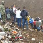 Mueren 14 personas por deslave en Colombia - El deslave ocurrió durante la madrugada de este domingo; cinco personas sobrevivieron. Foto de @UNGRD