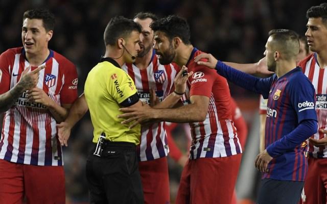 Suspenden ocho partidos a Diego Costa por insultar a árbitro - diego costa suspensión