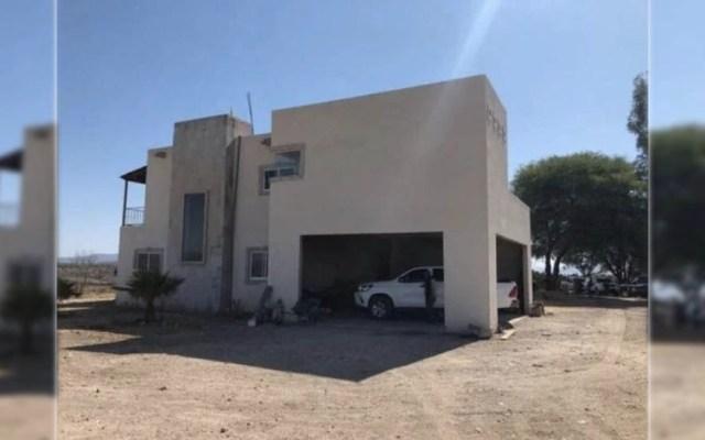 La casa donde fue detenido 'El Titi' - casa el titi armas Guanajuato