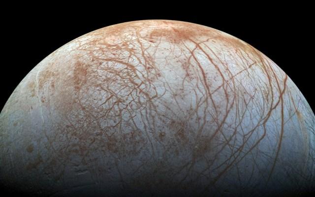 #Video NASA busca vida en luna de Jupíter - Luna 'Europa' de Júpiter. Foto de NASA
