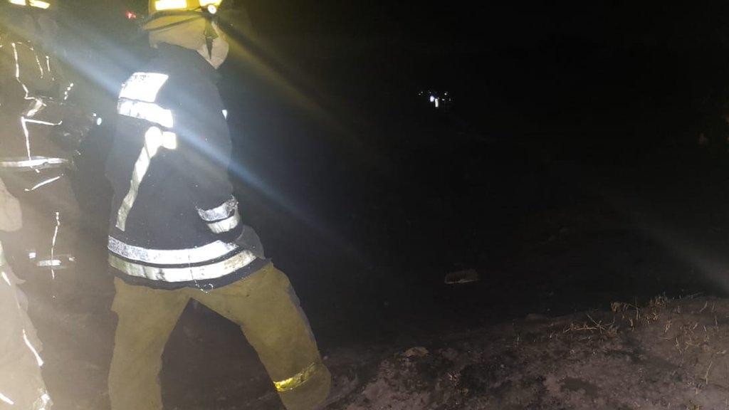 Controlan incendio tras explosión en ducto de Pemex en León - Foto de @Seguridad_Leon