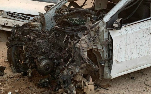 Explota coche bomba en Acapulco - Foto de Vocero Roberto Álvarez Heredia