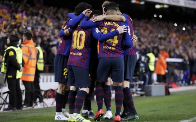 Barcelona cerca de ganar la Liga de España - Foto de @FCBarcelona_es