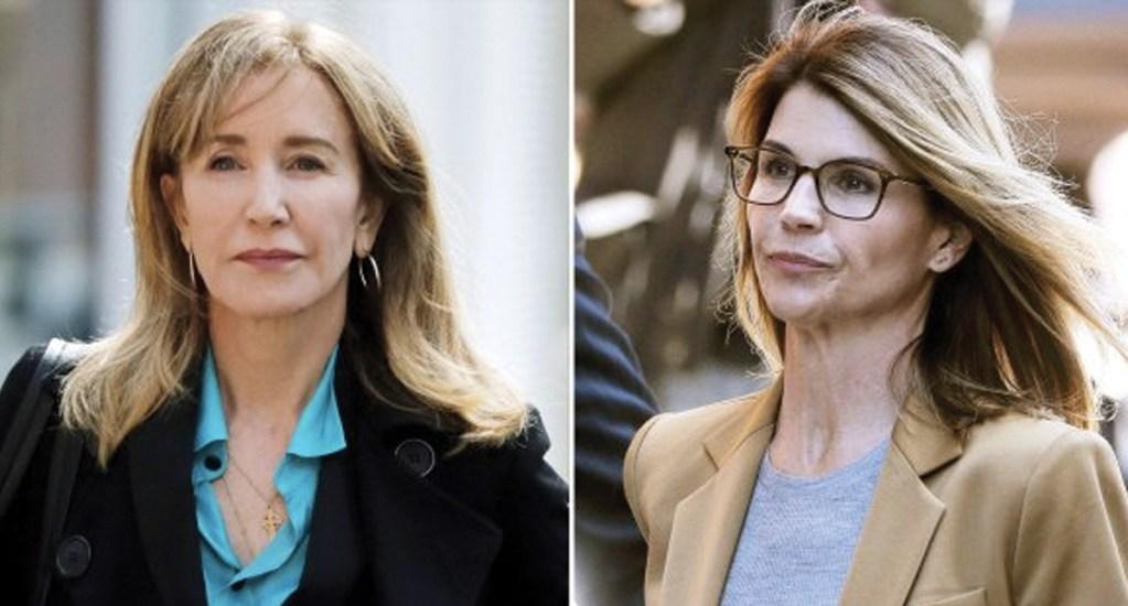 Felicity Huffman y Lori Loughlin comparecen ante la Corte - Foto de CNN