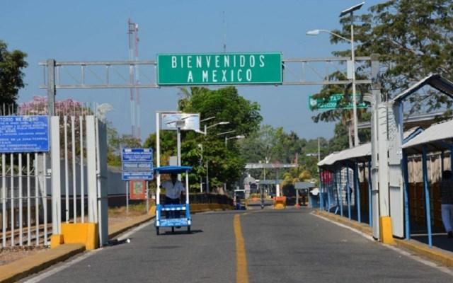 Migrantes irrumpieron de forma violenta en México: INM - Frontera Ciudad Hidalgo-Tecún Umán. Foto de Migrantes en Tránsito