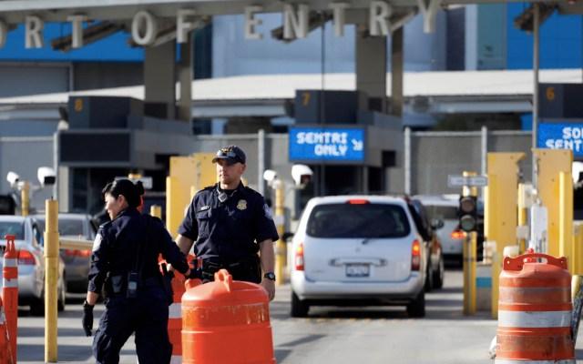 Crece 300 por ciento trasiego de drogas en frontera con EE.UU. - Garita de San Ysidro. Foto de Notimex