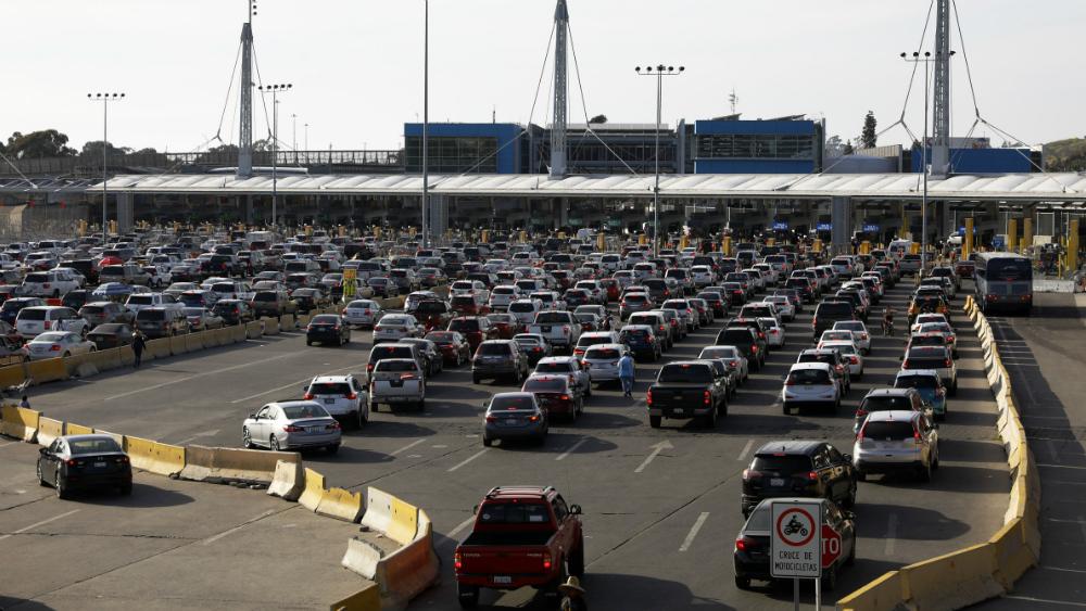 Gobierno de México envía nota diplomática a EE.UU. por retrasos en frontera - Garitas frontera Mexico EEUU