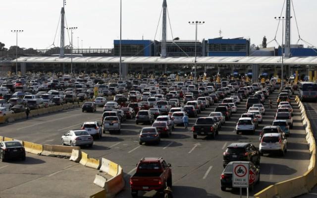 Se restringirán cruces no esenciales en frontera con EE.UU.; comercio se mantiene - Garitas frontera Mexico EEUU