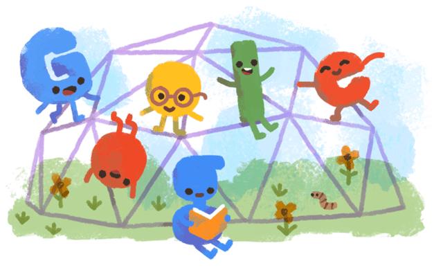 Google celebra Día del Niño con doodle - Foto de Google