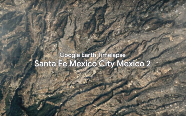 Google Earth Timelapse lanza actualización e incluye destinos de México - Captura de pantalla