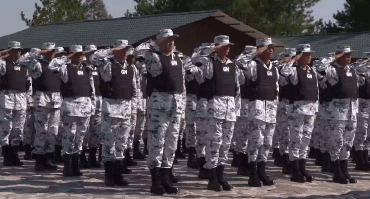 Así se vive la Inauguración de la Guardia Nacional — EN VIVO