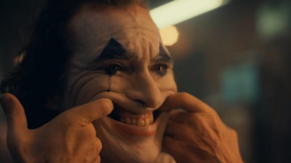 #Video Llega el tráiler oficial de 'Guasón' - Joaquin Phoenix como Guasón. Captura de pantalla
