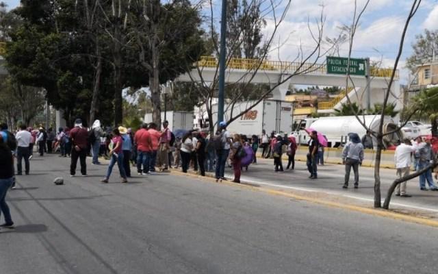 Maestros de la Coordinadora vandalizan Congreso de Guerrero - Foto de Quadratín