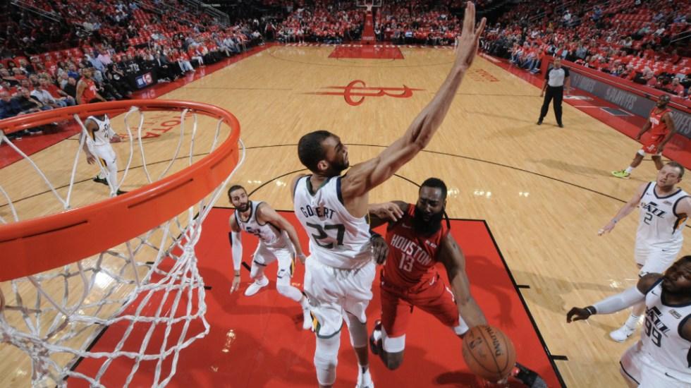 Rockets eliminan a Utah y avanzan a semifinales del Oeste en NBA - Foto de @HoustonRockets
