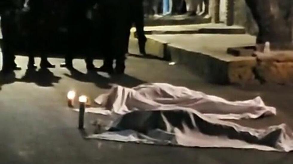 Hombre y mujer asesinados en Tlalpan. Foto de @shademsky