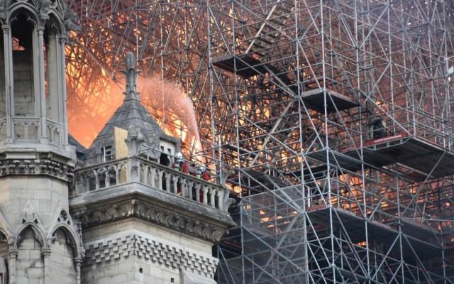 Cámara de time lapse podría dar pistas acerca de incendio en Notre-Dame - incendio catedral de Notre-Dame