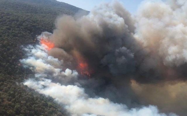 Nuevamente activan Alerta Atmosférica por incendios en Guadalajara - Foto de Protección Civil Jalisco