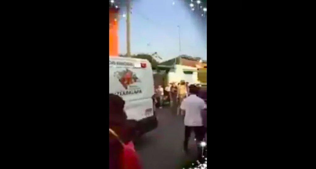 Balacera en carnaval de Iztapalapa deja 11 heridos y un muerto - Captura de pantalla