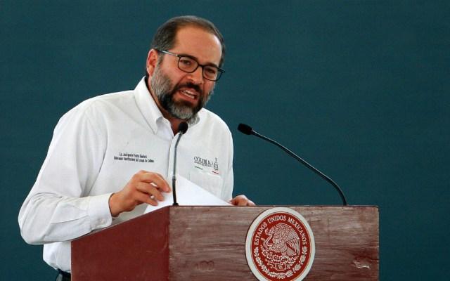 Involucrados en caso de exsecretario de Turismo estatal deberían estar detenidos: gobernador de Colima - Foto de Notimex