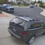 #Video Joven escapa de hombre que la perseguía en un auto en California