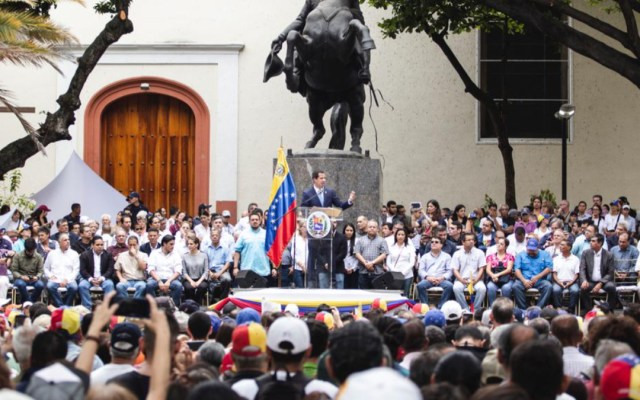 Juan Guaidó llama a una movilización masiva contra Maduro el 1 de Mayo - juan guaidó movilización 1 de mayo