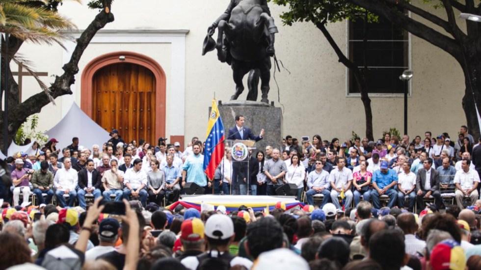 Resultado de imagen para Guaido llama a protestar el 1 de Mayo en caracas