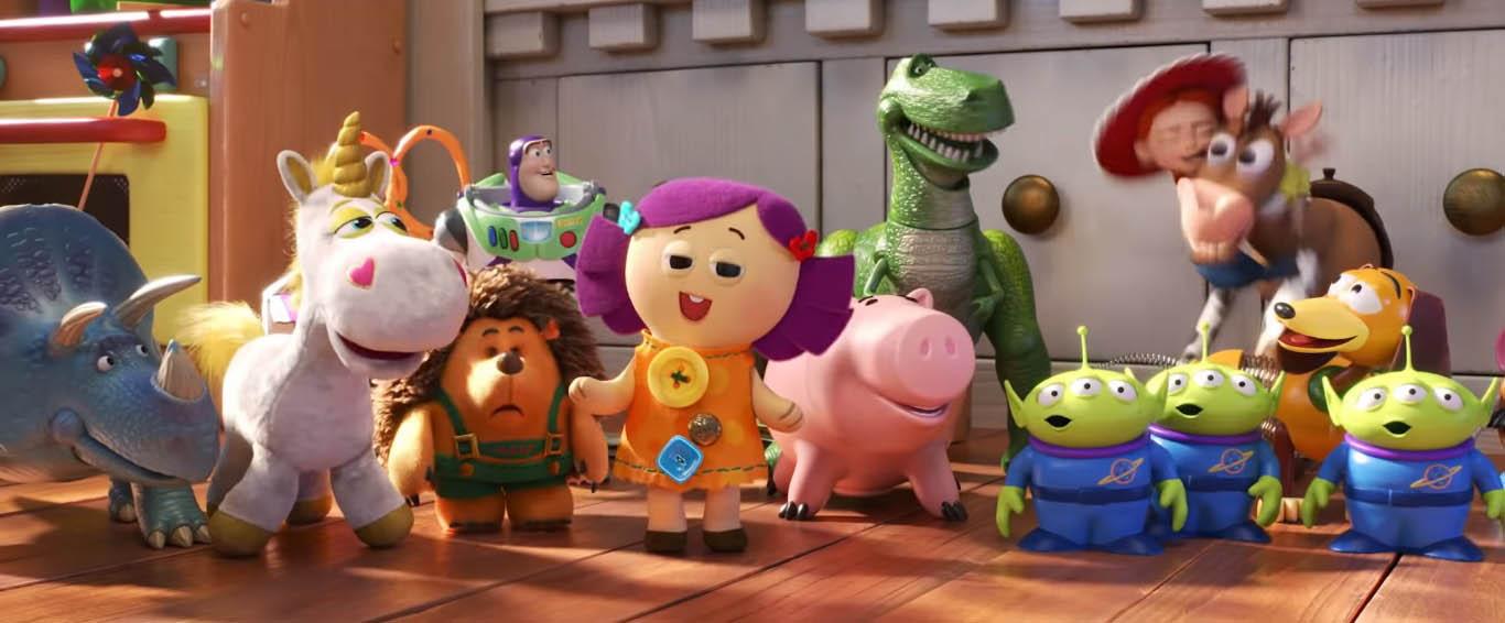 Juguetes de Toy Story 4. Captura de pantalla