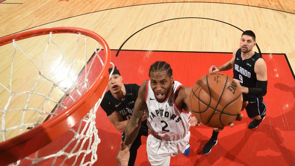 Toronto liquida a Orlando y va a semifinales de Conferencia Este de NBA - Foto de AFP
