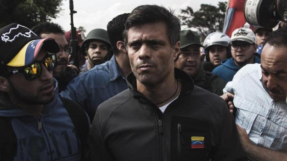 Leopoldo López acusa al gobierno de Maduro y a Tribunal de robar su partido - Leopoldo López. Foto de @Presidencia_VE