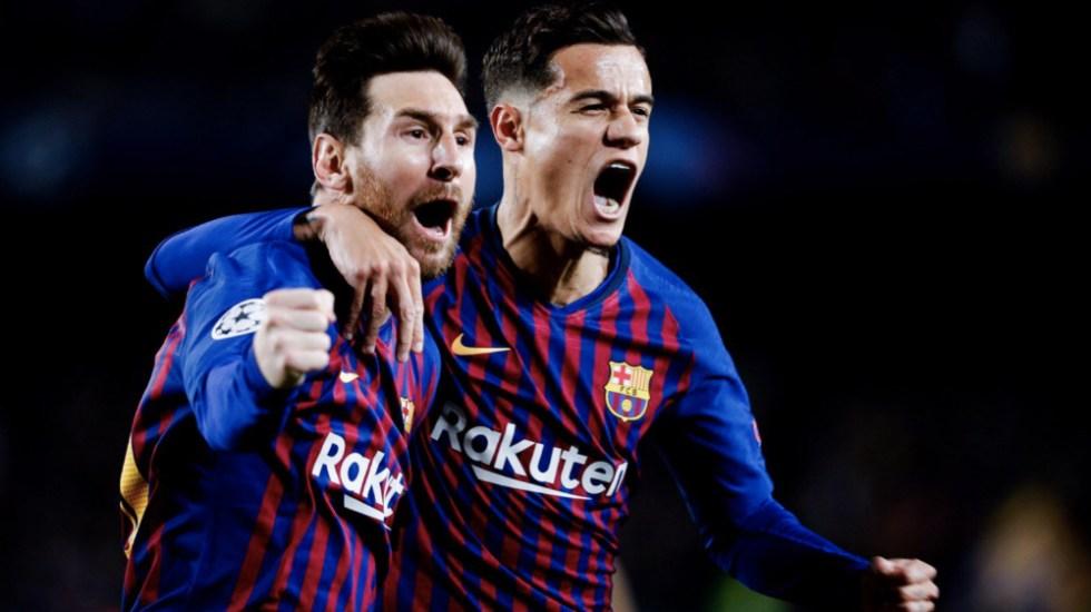 """Barcelona se clasificó """"dando una imagen espectacular"""": Messi - Foto de @FCBarcelona_es"""