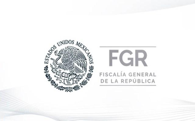 Vinculan a proceso a 16 presuntos integrantes del CJNG - Logo de la FGR. Foto de @FGRMexico
