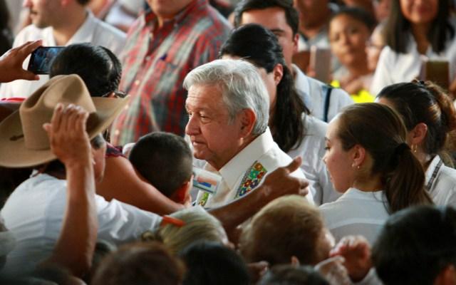 """Llegó la hora del sureste"": López Obrador - Foto de Notimex"