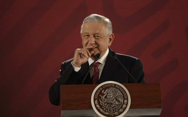 Arquidiócesis llama a López Obrador a no atacar a la prensa - El presidente Andrés Manuel López Obrador. Foto de Notimex-Oscar Ramírez.