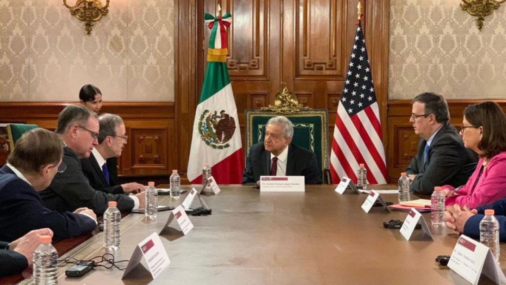 México ya cumplió sus compromisos para el T-MEC: AMLO - México cumplió sus compromisos con el T-MEC: López Obrador