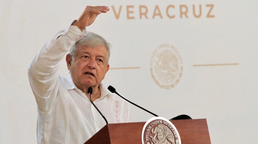 En seis meses mejorará la situación de violencia: AMLO - López Obrador en conferencia de prensa. Foto de Notimex