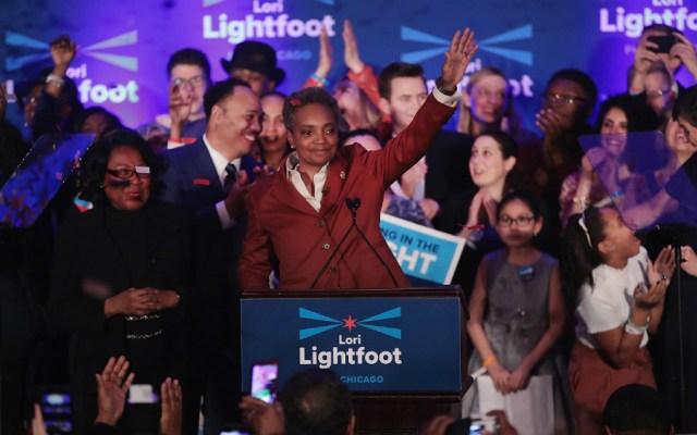 Chicago elige su primera alcaldesa negra y gay - Foto de AFP
