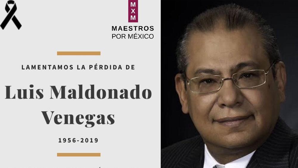 Muere Luis Maldonado Venegas, exsecretario de gobierno en Puebla - Luis Maldonado Venegas