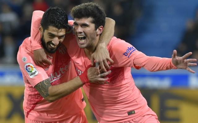 Barcelona acaricia título de La Liga tras derrotar al Alavés - Foto de AFP
