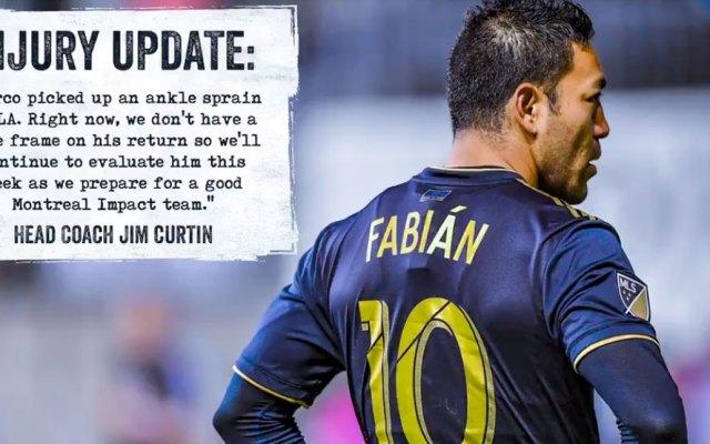 Marco Fabián seguirá en evaluación tras lesión