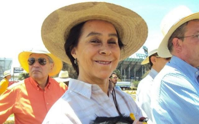 Murió María de los Ángeles Moreno, ex presidenta nacional del PRI - María de los Ángeles Moreno PRI
