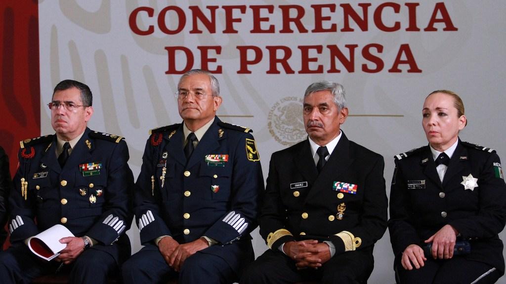 ¿Quiénes son los titulares de la Guardia Nacional? - Mandos de Guardia Nacional. Foto de Notimex