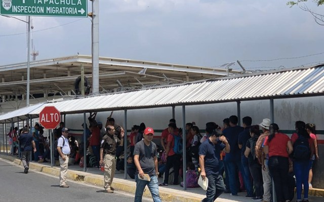 Nueva caravana migrante ingresó a México - Foto de Canal Antigua
